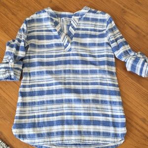 Tommy Bahama Striped Tunic Shirt